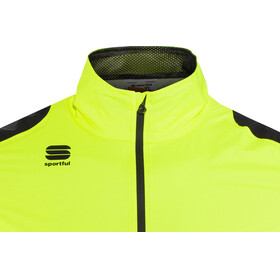 Sportful Hot Pack NoRain Jacket Men yellow fluo/black